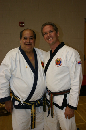 Master Pattison with Grandmaster Ahpo